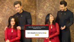 Fan expresses his desire to marry Dipika Kakar; check out Shoaib Ibrahim's witty response