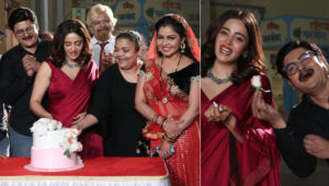 Bhabiji Ghar Par Hai: Nehha Pendse starts shooting as the new Anita Bhabhi; receives warm welcome; view pics