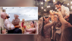 Varun Dhawan and Natasha Dalal's happy pic from their varmala will leave you besotted