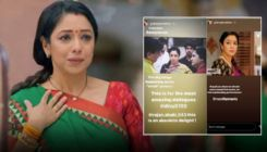 Anupamaa: Rupali Ganguly is overwhelmed with Gul Khan's praise for her performance; view post