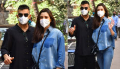 New parents Anushka Sharma and Virat Kohli make their first public appearance post their daughter's birth