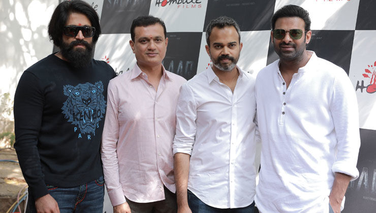 Salaar Launch Event: Prabhas and Yash's pics together go viral