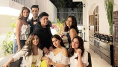 Karan Johar joins the Pawri at Manish Malhotra's house with Kiara Advani, Sara Ali Khan and others