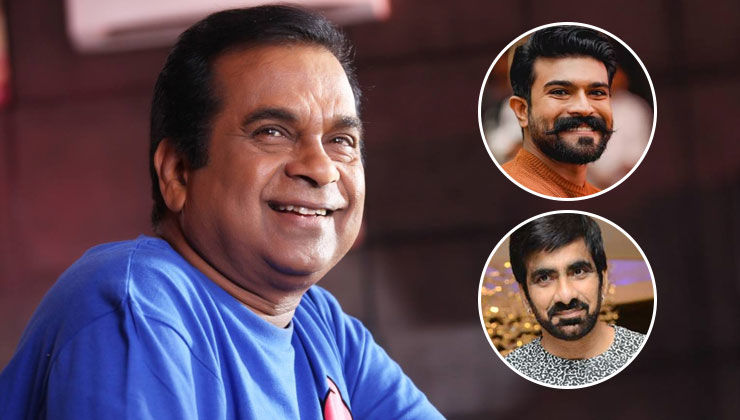 Happy Birthday Brahmanandam: Ram Charan, Ravi Teja and others extend warm wishes to the veteran comedian