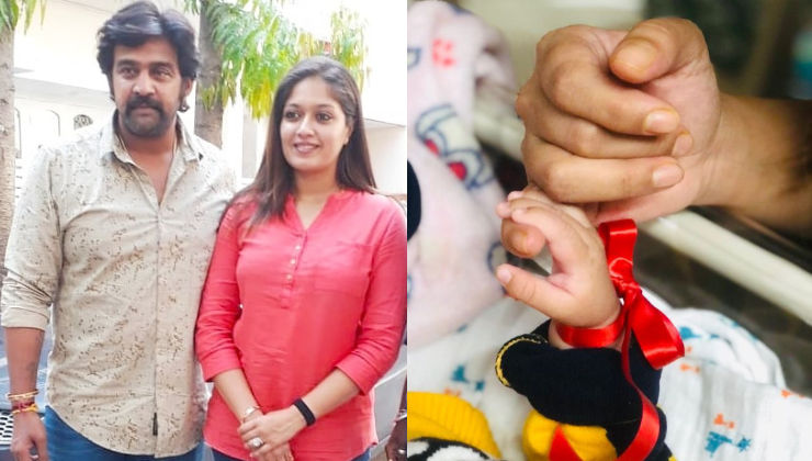 Late Chiranjeevi Sarja's wife Meghana Raj introduces their 'little prince' with an adorable video