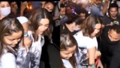 Deepika Padukone gets mobbed; a woman snatches the actress' purse in viral video