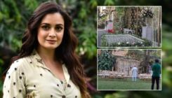 Dia Mirza and Vaibhav Rekhi's white themed wedding décor is breath taking; watch video