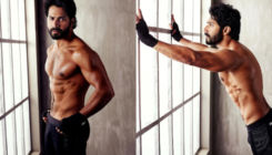 Varun Dhawan sends the internet into meltdown as he flaunts his chiselled body