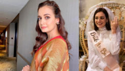 Bride-to-be Dia Mirza looks resplendent at her bridal shower; view pic