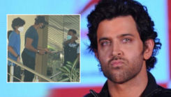 Hrithik Roshan loses his temper and goes belligerent on a doorman; watch video