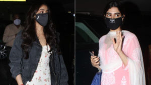 Ahead of Sridevi's death anniversary, Janhvi Kapoor and Khushi Kapoor snapped at airport