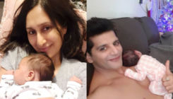 Karanvir Bohra and Teejay Sidhu reveal face and names of their newborn daughter