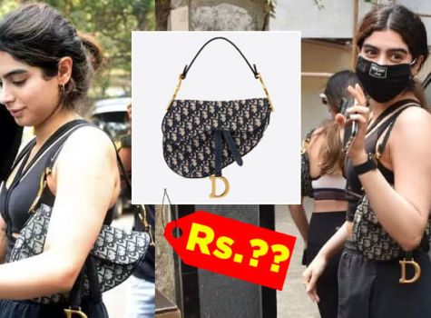 Khushi Kapoor rocks a Dior bag; here's how much you will have to shell out to get it