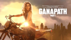 Ganapath: Tiger Shroff introduces his leading lady Kriti Sanon with a motion poster