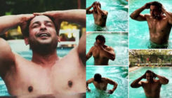 Sidharth Shukla goes shirtless to chill in the pool and fans can't stop gushing over his hotness; Watch Video