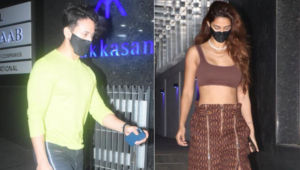 Lovebirds Tiger Shroff and Disha Patani snapped after dinner date; view pics