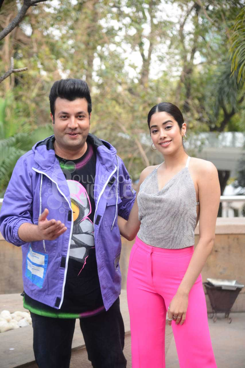 Janhvi Kapoor and Varun Sharma