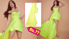 Janhvi Kapoor's neon dress by Alex Perry comes with an exorbitant price tag!