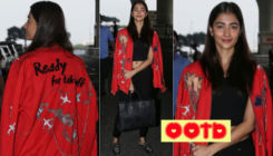 Radhe Shyam actress Pooja Hegde makes a splash at an airport in a quirky jacket