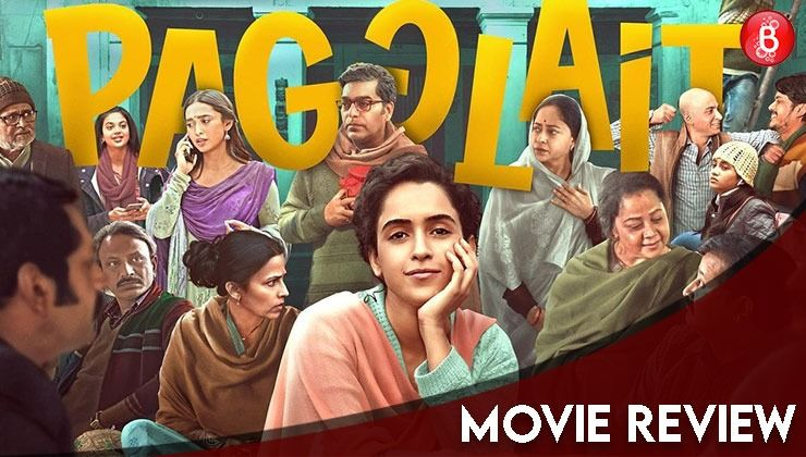 Pagglait REVIEW: Sanya Malhotra starrer despite being novel is heavy-handed and loses steam