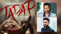 Tadap: Ajay Devgn & Abhishek Bachchan get 'emotional' as FIRST poster of Ahan Shetty's debut film is unveiled