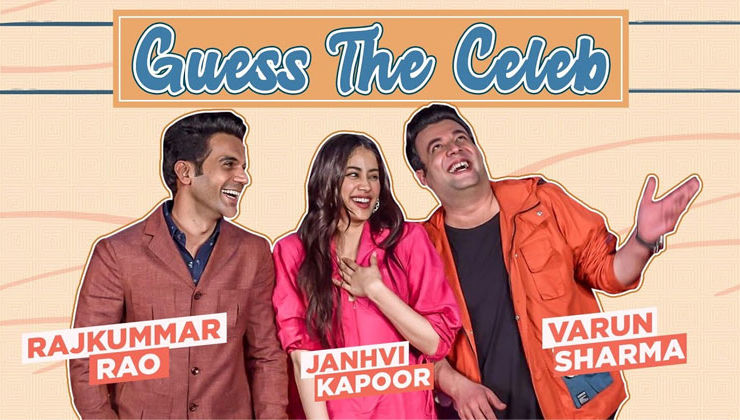 Guess the Celeb: Janhvi Kapoor, Rajkummar Rao & Varun Sharma's HILARIOUS fight will make you ROFL