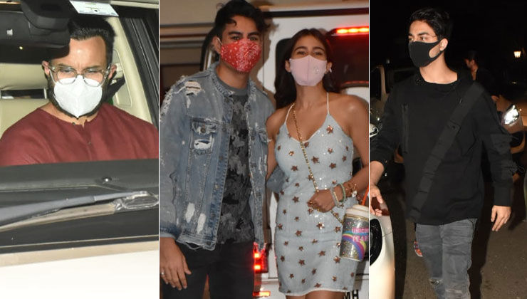 Ibrahim Ali Khan Birthday Bash: Sara Ali Khan, Aryan Khan and others join the celebration; view pics