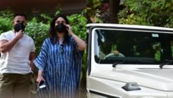 Kareena Kapoor makes first public appearance with Saif Ali Khan after birth of their second son; view pics