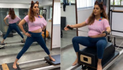 Neeti Mohan performs Pilates while flaunting her baby bump; check out her workout video