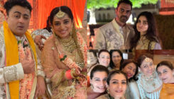JP Dutta's daughter Nidhi Dutta ties the knot with Binoy Gandhi; check out inside pics & videos of their wedding