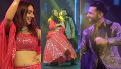 Rahul Vaidya channels his inner Shah Rukh Khan as he dances with GF Disha Parmar at a friend's wedding; WATCH