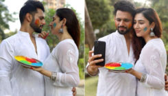 Rahul Vaidya, Disha Parmar aka DisHul's Holi celebration is all about love, romance and colours; Check it out