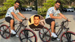 Rahul Vaidya enjoys a ride on E-Bike gifted by Bigg Boss 14 host Salman Khan: It is an amazing experience