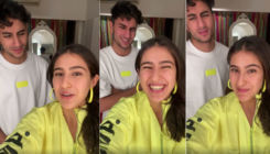 Sara Ali Khan's hilarious 'knock knock' jokes leave Ibrahim Ali Khan irritated; watch viral video