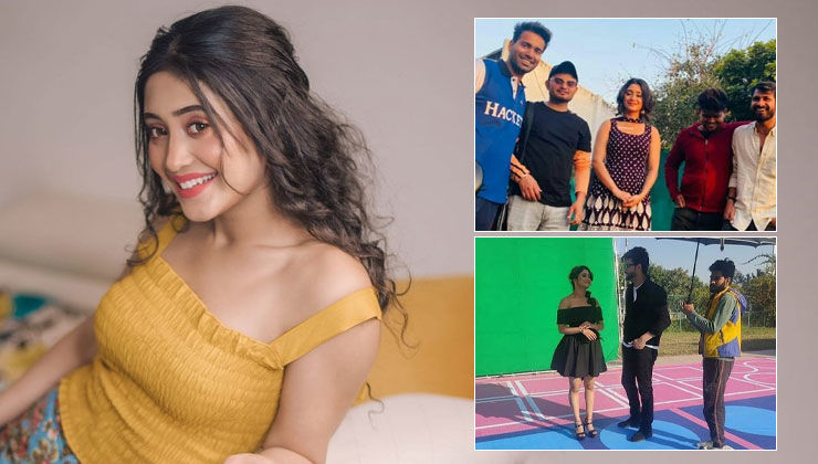 YRKKH star Shivangi Joshi's BTS pics from her upcoming music video will leave fans uber excited; Take a look