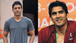 Farhan Akhtar reacts to boxer Vijender Singh's review on Toofan teaser