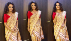 Devoleena Bhattacharjee is a 'happy soul' as she performs the Bihu dance in home town Assam; Watch viral video