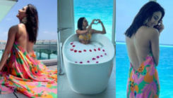 Erica Fernandes raises mercury levels as she flaunts her sexy back and enjoys time in a bathtub; See Pics