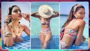 Erica Fernandes looks smoldering hot in a bikini; Check out her sizzling throwback PICS from Maldives trip
