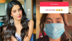 Janhvi Kapoor has the 'most sassy' reply to a fan's request for a kiss; Check it out