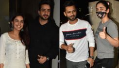 Jasmin Bhasin, Aly Goni go on a double date with Rahul Vaidya and Disha Parmar yet again; see pics