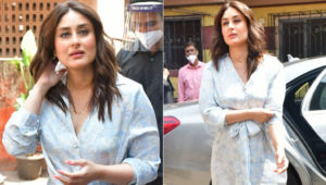 Kareena Kapoor looks gorgeous in floral dress as she resumes work a month after giving birth to her second baby; view pics