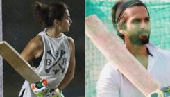 Shahid Kapoor finds Taapsee Pannu practicing cover drive for Shabaash Mithu 'sharp'