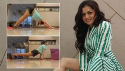 VIDEO: Drashti Dhami gives us mid-week fitness goals with her yoga routine