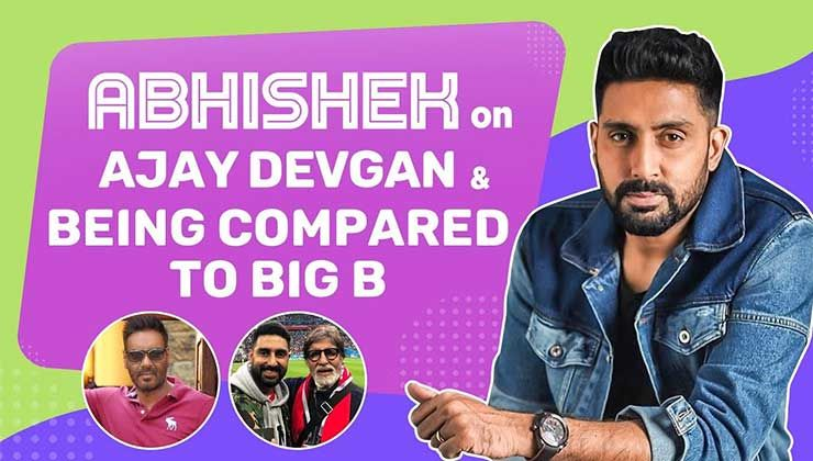 Abhishek Bachchan on Ajay Devgn, being compared to Big B & why Aishwarya hasn't watched The Big Bull yet