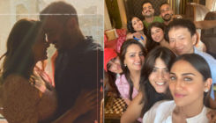Anita Hassanandani celebrates birthday with Karan, Surbhi & Ekta, but her 'special 40' cake steals the show