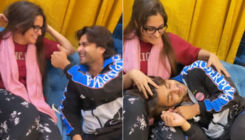Dipika Kakar, Shoaib Ibrahim go the Kajol, Shah Rukh Khan way as they get goofy and their VIDEO is unmissable