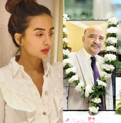 Patralekhaa father death