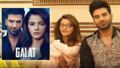 Rubina Dilaik, Paras Chhabra look intense in FIRST poster of their music video Galat; Song to drop on THIS day