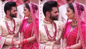 Rahul Vaidya and Disha Parmar aka DisHul get married secretly? Here's the truth of their VIRAL wedding PIC